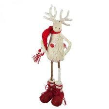 Nordic Standing Reindeer Ornament (Set of 2)