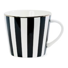 Stripe Ceramic Coffee Mug