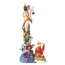 Wish Big Santa's stacked magic toy bag Figurine