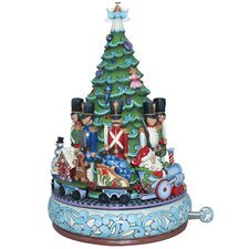 Toy Soldier Christmas Train Musical Masterpiece Figurine