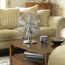 30cm Chrome Desk Fan