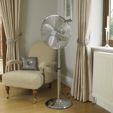 40cm Chrome Pedestal Fan