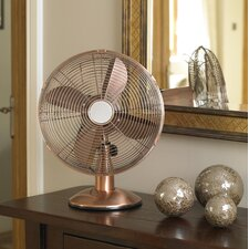 30cm Copper Desk Fan