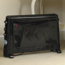 2000 Watt Portable Electric Convection Heater with Turbo Fan and Timer