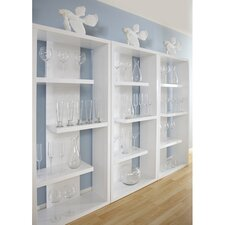"""Robyn 71"""" Accent shelves Bookcase"""