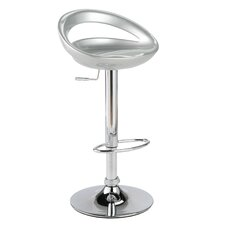Agnes Adjustable Height Swivel Bar Stool