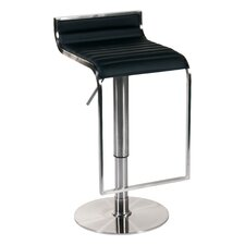 Forest Adjustable Height Swivel Bar Stool with Cushion
