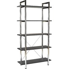 "Laurence Ledah 68"" Accent Shelves Bookcase"