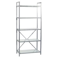 "Madrid 67.25"" Accent Shelves Bookcase"