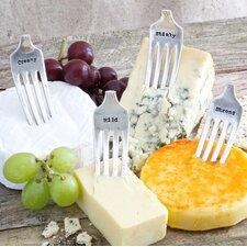 4 Piece Cheese Marker Set