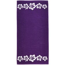 Hibiscus Terry Turkish Cotton Beach Towel