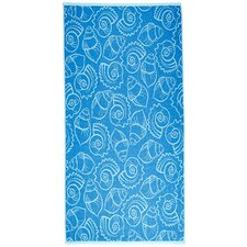Shells Terry Turkish Cotton Beach Towel