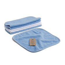 Baby Organic Turkish Cotton 6 Piece Towel Set (Set of 6)
