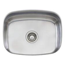 "Laundry 23.25"" x 18.5"" Medium Single Bowl Kitchen Sink"