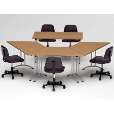 4 Piece Conference Table Set