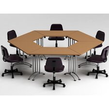 6 Piece Conference Table Set