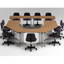 7 Piece Conference Table Set