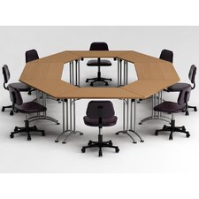 8 Piece Conference Table Set