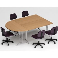 3 Piece Conference Table Set