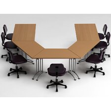 5 Piece Conference Table Set