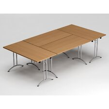 9' Rectangular Conference Table (Set of 4)