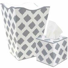 Waste Basket and Tissue Box