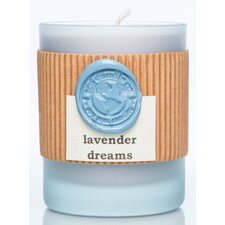 Lavender Dreams Soy Jar Frosted Candle