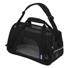 Large Pet Carrier with Fleece Bed Airline Approved