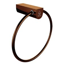 Contemporary Wall Mounted Bathroom Towel Ring Holder