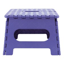 1-Step Folding Step Stool with 200 lb. Load Capacity (Set of 2)