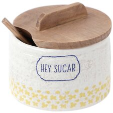 Clever Kitchen Sugar Bowl with Lid
