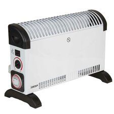 2,000 Watt Portable Electric Convection Compact Heater with 24H Timer