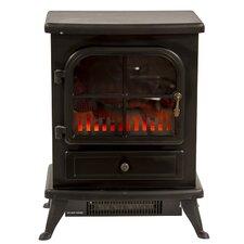 Oakmen 1.8kW Flame Effect Stove Electric Fireplace