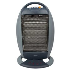 Halogen 1,600 Watt Portable Electric Infrared Compact Heater