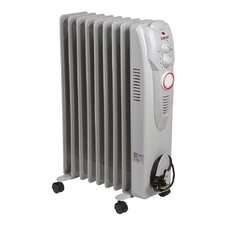 Oil Filled 2,000 Watt Portable Electric Radiator Heater with 24H Timer