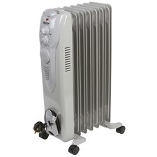 Oil Filled 1,600 Watt Portable Electric Radiator Heater