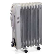 Oil Filled 2,000 Watt Portable Electric Radiator Heater