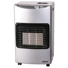 4200 Watt Portable Gas Fan Utility Heater with Wheels