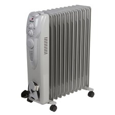 Oil Filled 2,500 Watt Portable Electric Radiator Heater