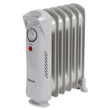 Baby Oil Filled 500 Watt Portable Electric Radiator Heater