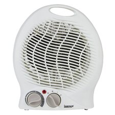 Upright 2,000 Watt Portable Electric Fan Compact Heater