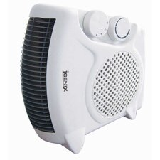 Flat/Upright 2,000 Watt Portable Electric Fan Compact Heater