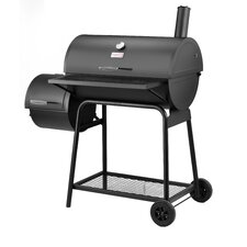 "45.3"" Charcoal Grill with Offset Smoker"