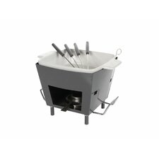 Life Steel Fondue Set