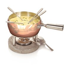 Life Copper Fondue Set
