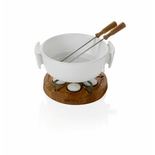 Life Ceramic Fondue Set