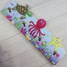 Ocean Creatures Kids Cloth Rack