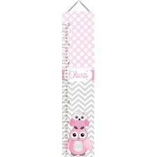 Personalized Owl Growth Chart
