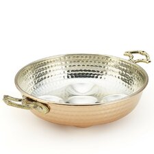Copper Double Handle Egg Pan