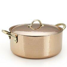 Copper Round Casserole